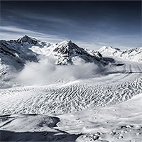 Sông băng lớn nhất dãy Alps có thể biến mất vào năm 2100