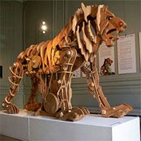 """Bản dựng """"sư tử máy"""" của Leonardo da Vinci"""