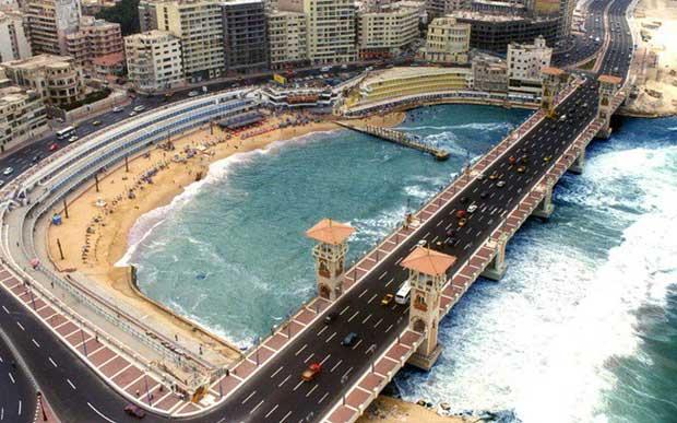 Thành phố Alexandria.