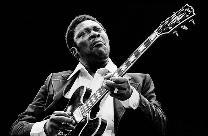 Riley B. King - được biết đến với cái tên BB King - đã định nghĩa nhạc blues cho khán giả toàn cầu