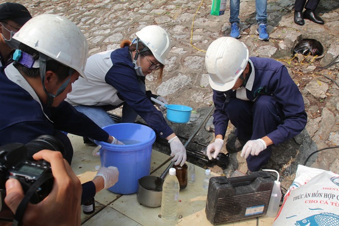 Việc thả cá này sẽ chứng minh nước Tô Lịch sau xử lý có các chỉ số tốt