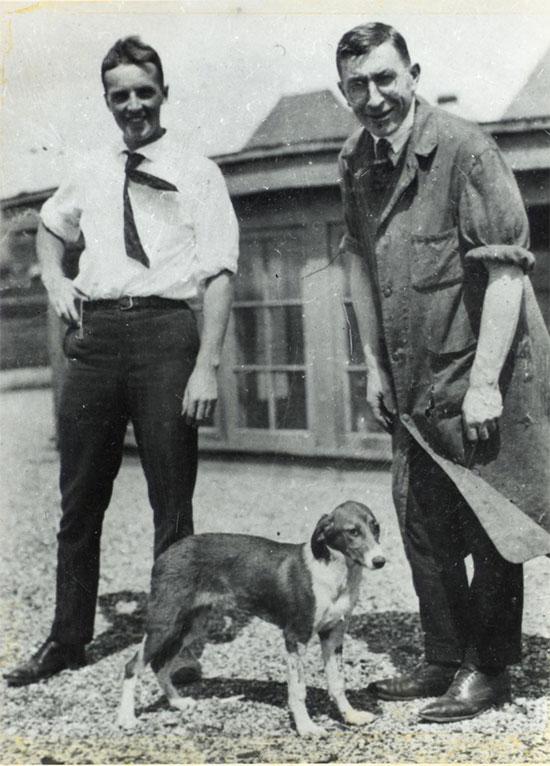 Chú chó đã giúp ngành y học phát triển.