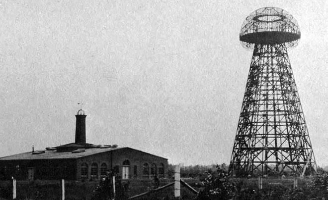 Tòa tháp Wardenclyffe.