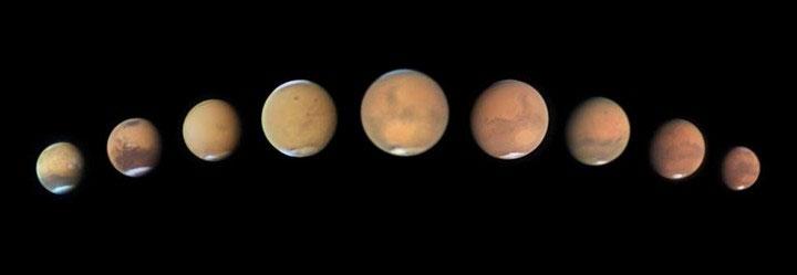 Bão bụi trên sao Hỏa