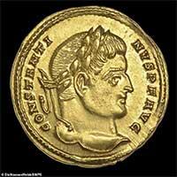 Tìm thấy đồng xu La Mã cổ đại cực kì quý hiếm trị giá hơn nửa tỷ đồng