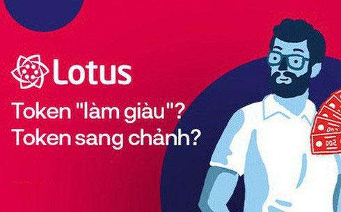 Token là đơn vị năng lượng trên mạng xã hội (MXH) Lotus