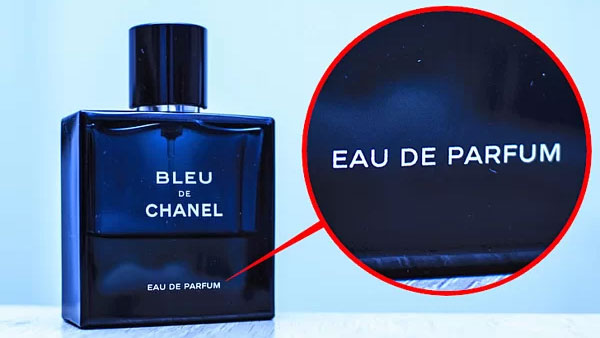 Eau de Parfum có thể giữ mùi hương trong khoảng 4 - 5 tiếng.