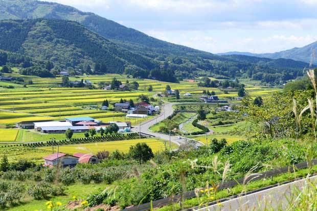 Thị trấn Tono, nằm ở quận Iwate, phía đông bắc của Honshu.