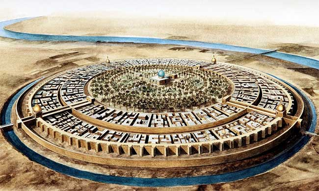 Thành phố Badhdad cổ.