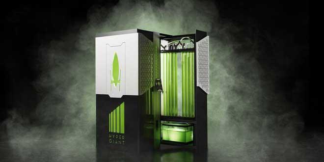 Chiếc máy sử dụng tảo để giảm thiểu khí carbon dioxit.