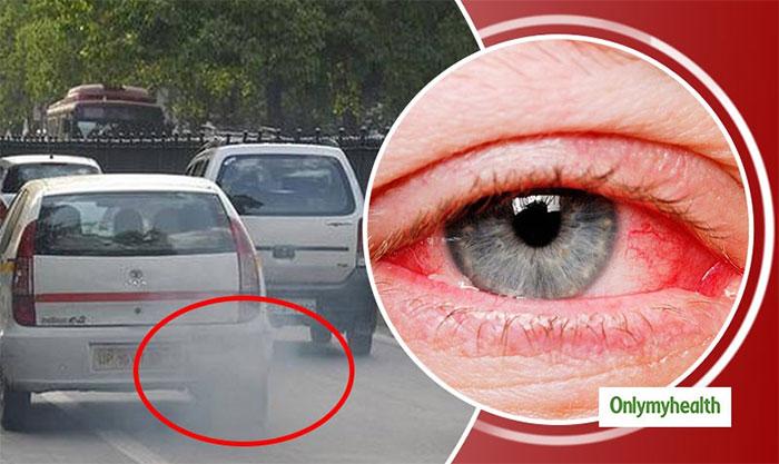 Khói xe là nguyên nhân hàng đầu gây nên các bệnh về mắt