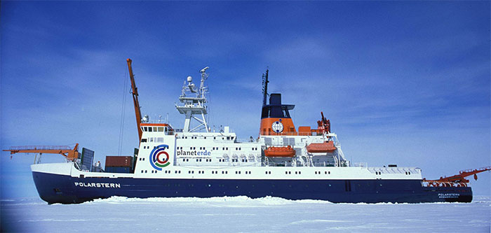 Tàu Polarstern khởi hành từ thành phố Tromso, Na Uy hôm thứ Sáu