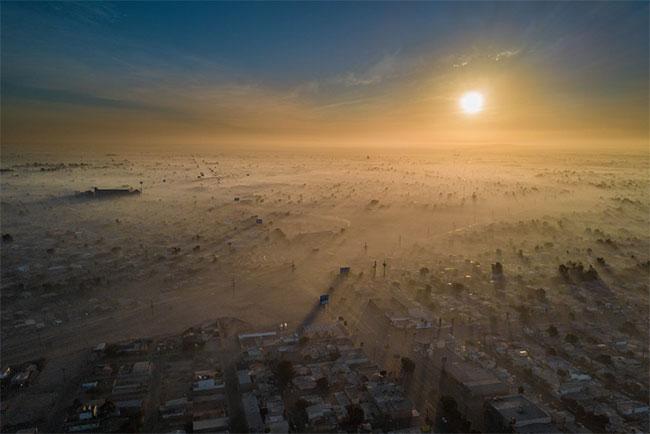 Thành phố ô nhiễm nhất thế giới Mexicali