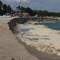 Người dân tại vùng biển Mexico hoảng hốt với hiện tượng có một không hai