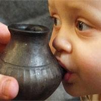 Phát hiện bình sữa 3.000 năm tuổi của trẻ em tiền sử