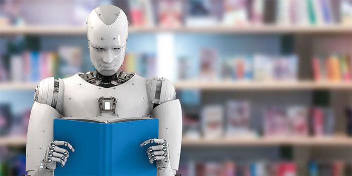 Giáo viên robot ứng dụng công nghệ AI.