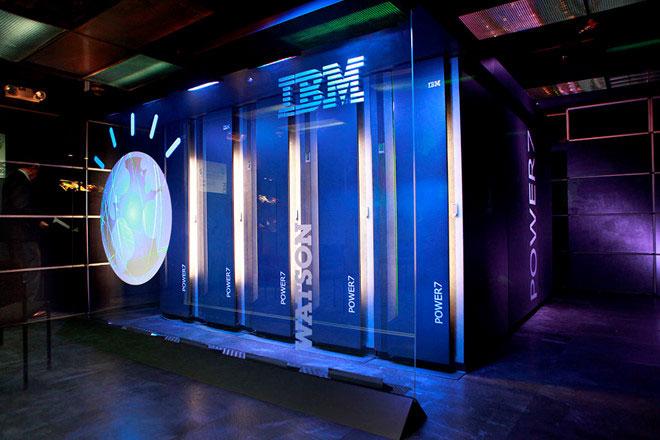 Siêu máy tính Watson của IBM