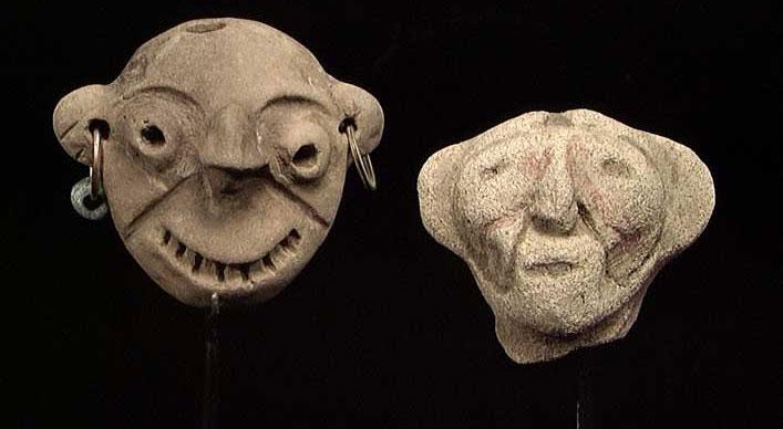 Một hiện vật của người Tumaco được nhóm khảo cổ phát hiện.