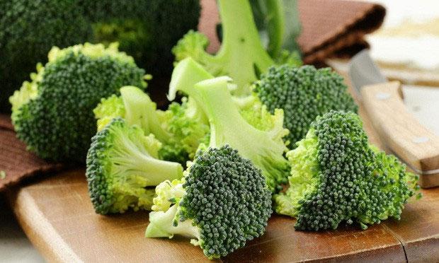 Phần cuống là bộ phận chứa nhiều chất xơ hơn cả so với bông cải.