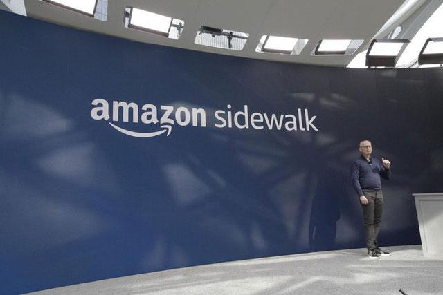 Giao thức kết nối không dây Amazon Sidewalk.