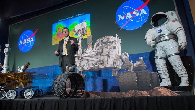 Jim Green - trưởng ban khoa học của NASA.