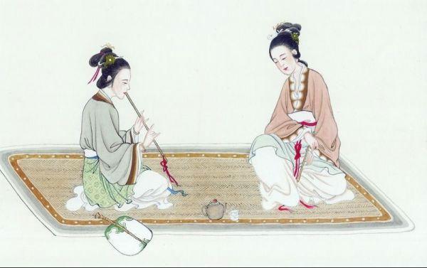 Chiếu ngà luôn được coi là đồ dùng của giới quý tộc.