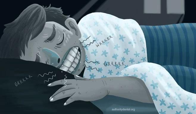 Nghiến răng trong khi ngủ có phải là một loại bệnh?
