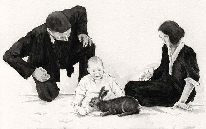 Bé trai chín tháng tuổi Albert đã tham gia thí nghiệm.