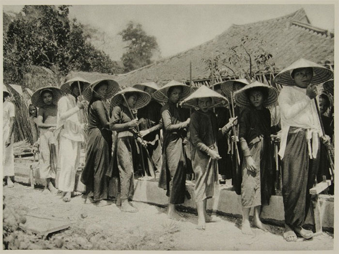 Những người phụ nữ ở Nha Trang, Khánh Hòa năm 1926.