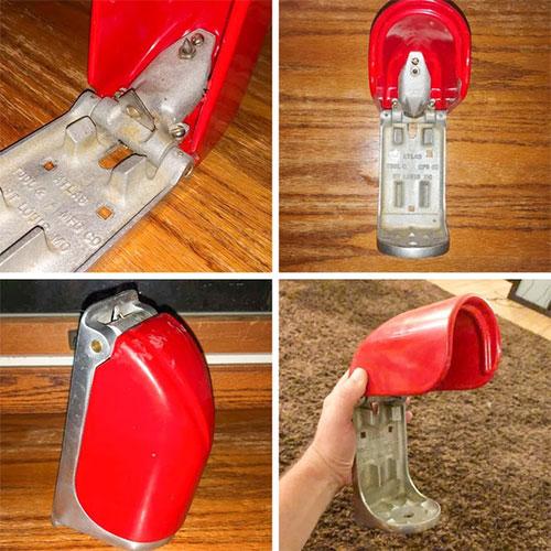 Đây là dụng cụ đặc biệt mở hộp cho lon nước ngọt.