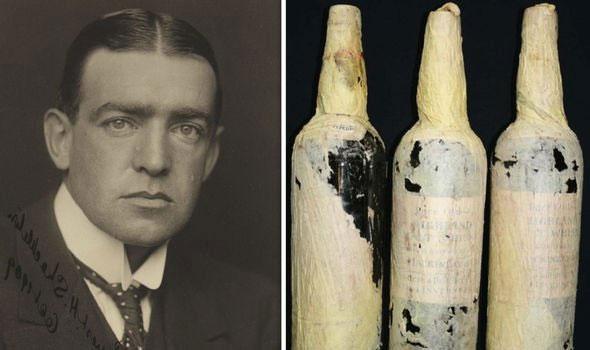 Shackleton là một nhà thám hiểm vùng cực người Anh chính là chủ nhân của những chai rượu