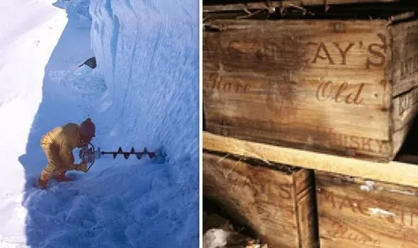 """""""Kho báu"""" trăm năm được chôn sâu trong lớp băng Nam Cực"""
