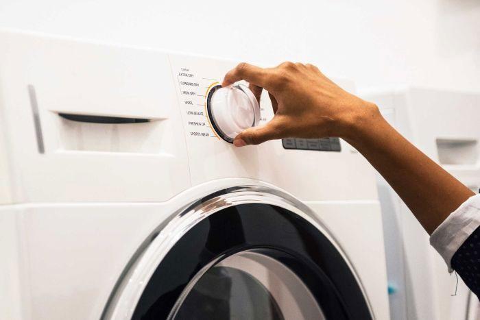 Chế độ giặt Delicate phát tán nhiều hạt vi nhựa gây ô nhiễm nguồn nước.