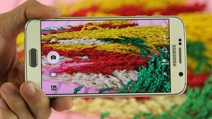Dual pixel trên Samsung galaxy S6 Edge.