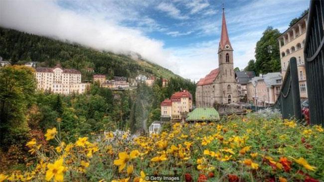 Thị trấn Bad Gastein của nước Áo