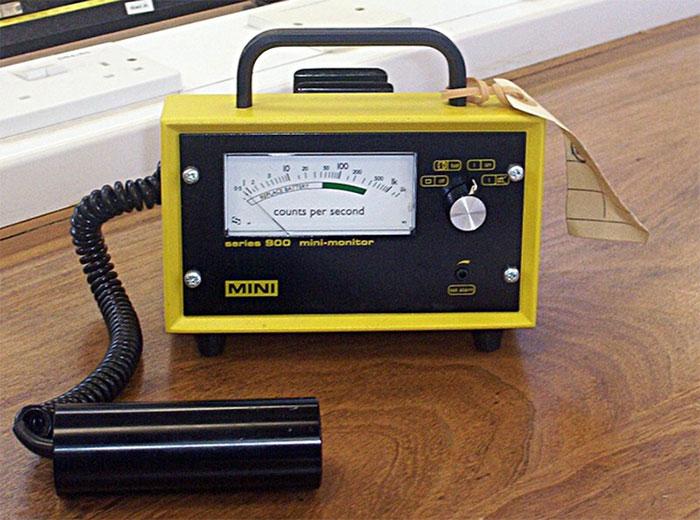 Thiết bị đo Geiger.