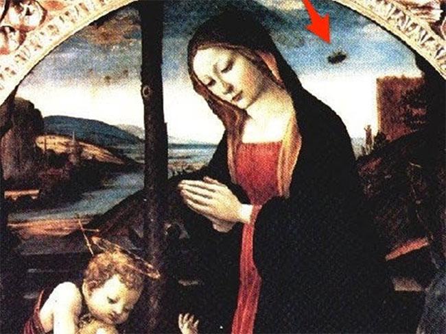 "Bức tranh nổi tiếng ""Madonna with Saint Giovannino"""