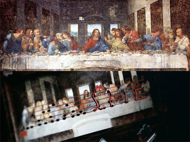 """Bài hát ẩn dấu trong bức tranh """"The Last Supper"""""""