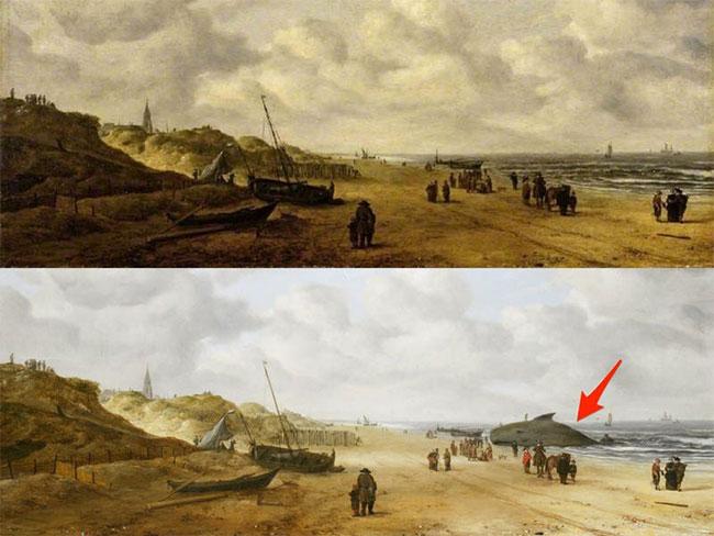 """Bức tranh """"Scheveningen Sands"""""""