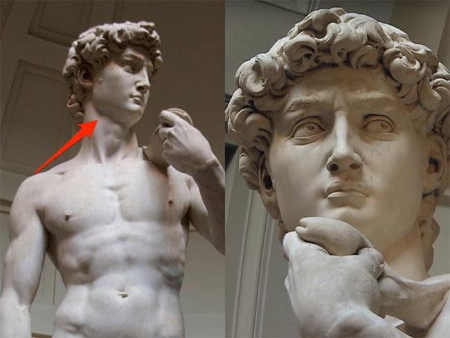 Bức tượng David của Michelangelo