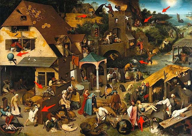 "Bức tranh ""Netherlandish Proverbs"""
