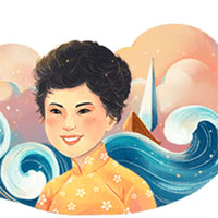 Google Doodle kỷ niệm ngày sinh nhà thơ Xuân Quỳnh