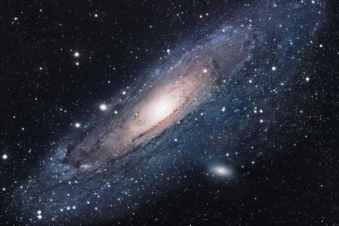 """""""Tiên nữ"""" Andromeda là một quái vật vũ trụ thực thụ, và chúng ta là nạn nhân tiếp theo"""