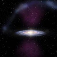 Siêu lỗ đen dải Ngân Hà phát nổ 300.000 năm vào buổi đầu của nhân loại