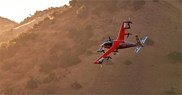 Heaviside bay thử nghiệm tại California.