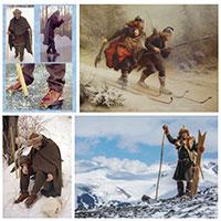 Cách giải trí của người Viking: Đến trượt tuyết cũng phải máu lửa nhất lịch sử
