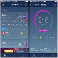 Những ứng dụng đo ô nhiễm không khí thay thế AirVisual