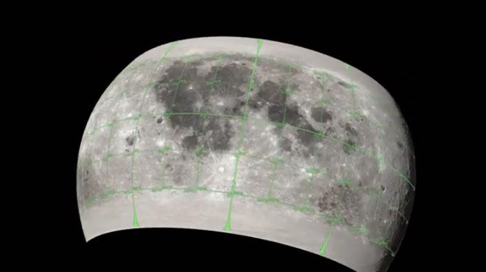 Bản đồ 3D CGI Moon Kit.
