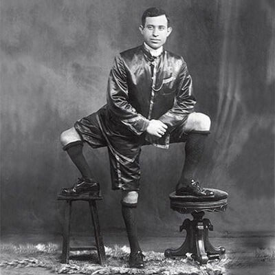 Frank Lentini, người đàn ông ba chân ở Ý sống vào cuối thế kỷ 19 đầu thế kỷ 20