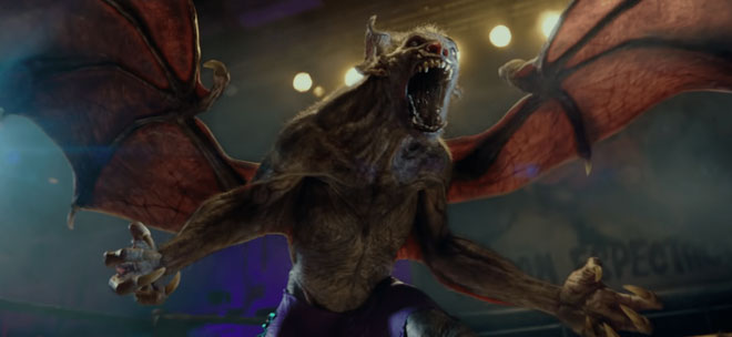 Tạo hình của Camazotz trong phim Hellboy.